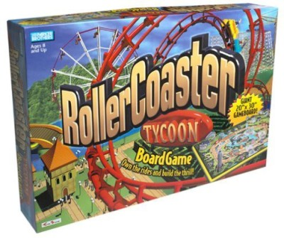 Parker Brothers rollercoaster tycoon Board Game