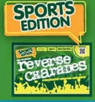 Continuum Games Reverse Charades (Sports Edition) Board Game
