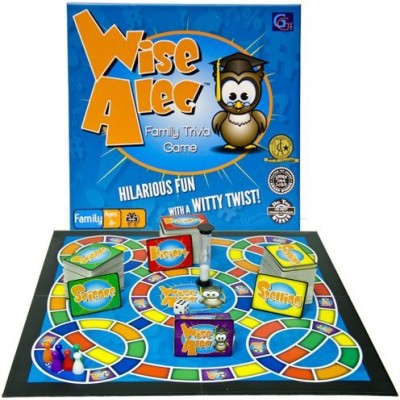 Griddly Games Wise Alec Family Trivia Board Game