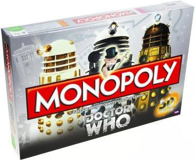 U S of A Monopoly Games Doctor WHO Game Fast-Dealing Property Trading Game Board Game