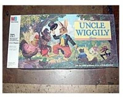 Milton Bradley Uncle Wiggily (Edition 1988) Board Game