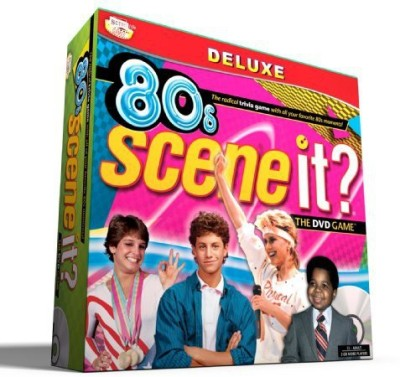 Scene It 80S Deluxe Edition Board Game