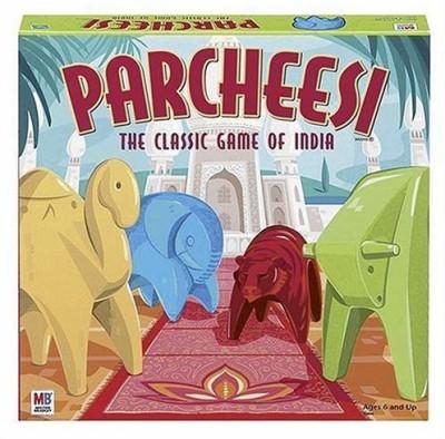 Milton Bradley Classic Parcheesi Board Game