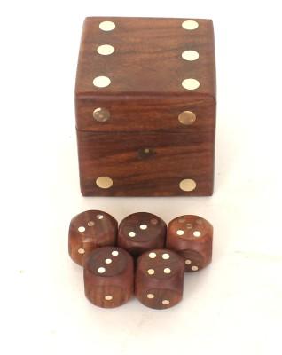 Home Sparkle 5 Dice Box Board Game