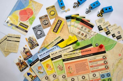 Kitki SAMRAT Educational Game/Toy/Gift For Kids Based On Real Indian History Board Game