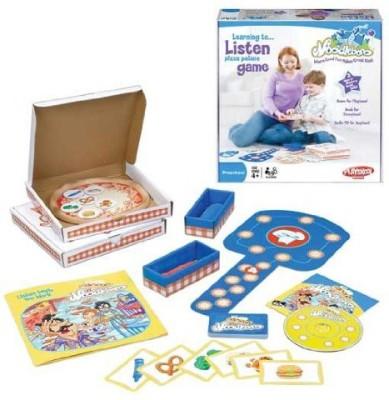 Playskool Noodleboro Pizza Palace Listening Board Game