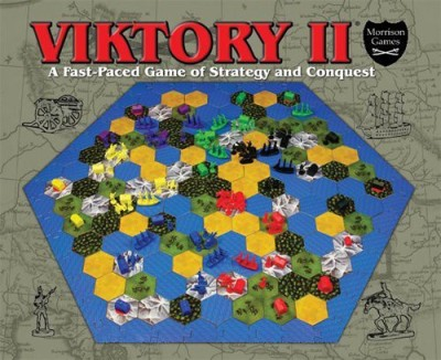 Morrison Games Viktory Ii A Fastpaced Of Strategy And Conquest Board Game