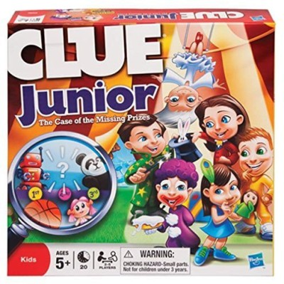 Clue Carnival The Case Of The Missing Prizes Board Game