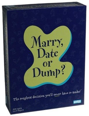 Milton Bradley Marrydate Or Dump? Board Game