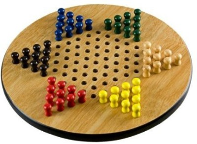 Sterling Gaming sterlingclassic wooden chinese checkers Board Game
