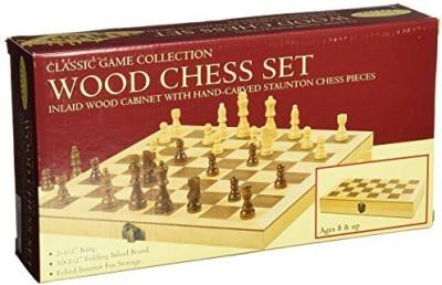 John N. Hansen Classic Wood Chess Set Board Game