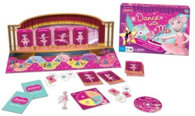 Wonder Forge Angelina Ballerina Dance With Me Board Game