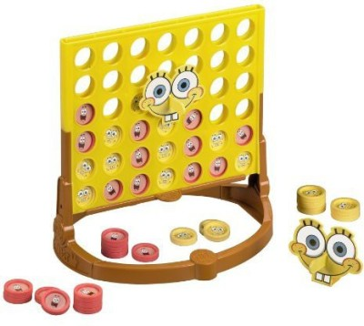 SpongeBob SquarePants Connect 4 Spongebob Edition Board Game
