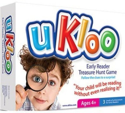 uKloo Kids Inc. Ukloo Early Reader Treasure Hunt Board Game
