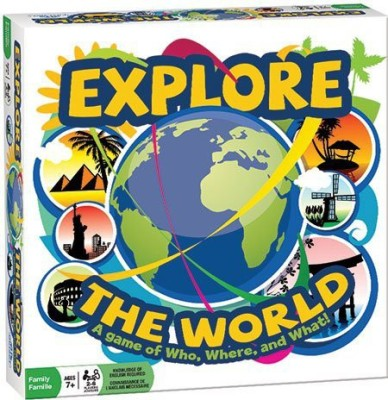 Outset Media Explore The World Board Game
