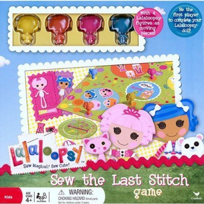 Cardinal Lalaloopsy Sew The Last Stitch Board Game