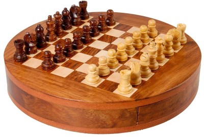 Redhill Best Quality wooden Magnetic 9inc Round Board Game