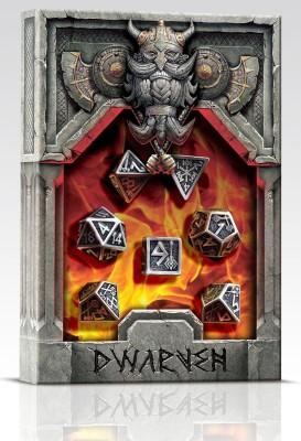 Q Workshop Die Set of Metal Dice Board Game