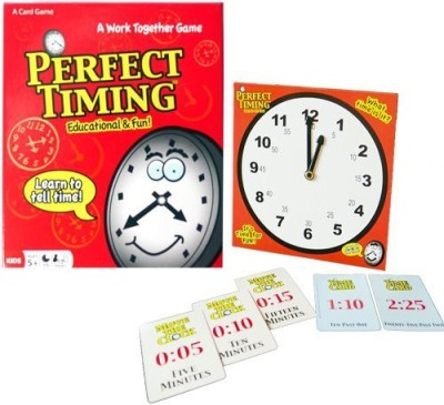 Continuum Games Perfect Timing Board Game