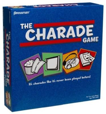 Pressman The Charade Board Game