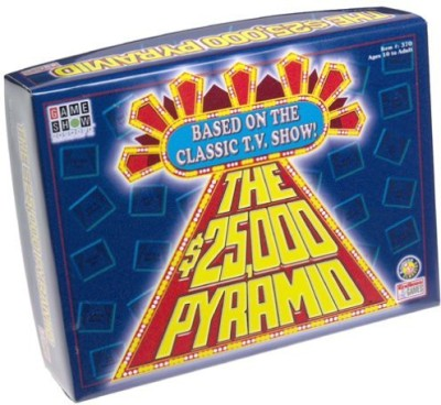 Endless Games Pyramid Show Network Board Game