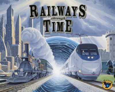 Eagle Games Railways Through The Time A Railways Of The World Expansion Board Game
