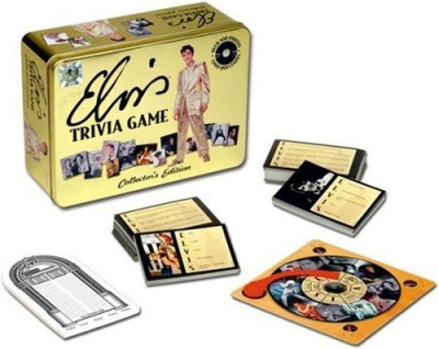 USAopoly Elvis Trivia Board Game
