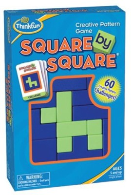 Think Fun Square Square Board Game