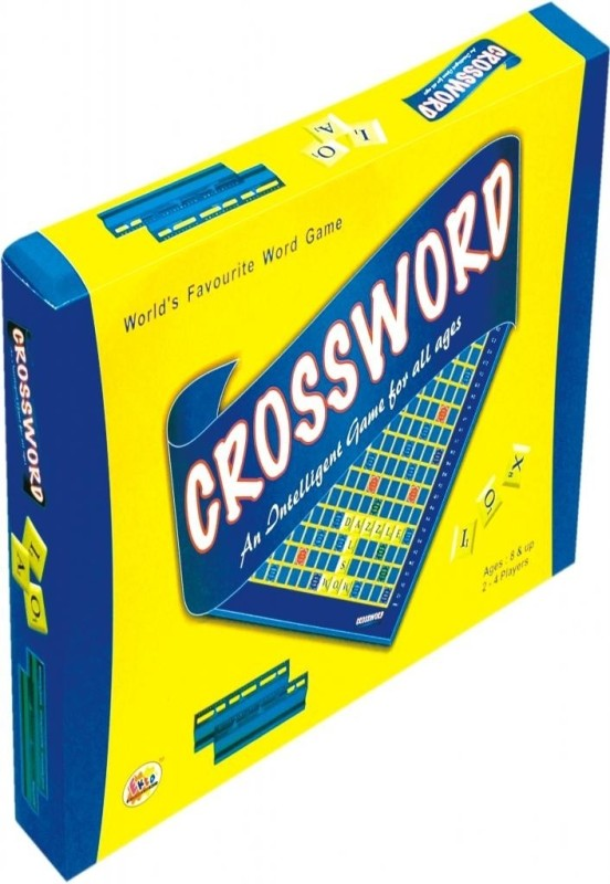 Ekta Crossword Board Game Board Game