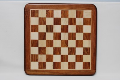 Best Chess 18 inches Chess Flat Board in Sheesham and Maple Board Game