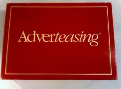 Cadaco Adverteasing The Of Slogans commercials and Jingles (1988) Board Game