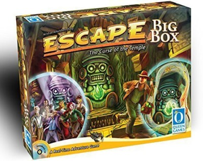 Queen Games Escape The Curse Of The Temple Big Box Board Game