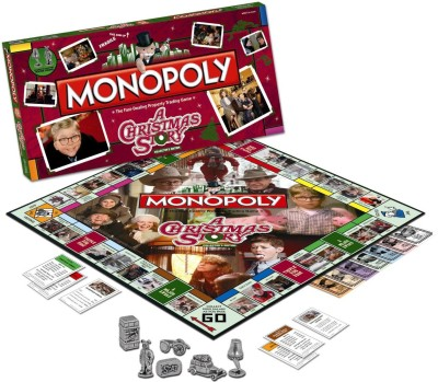 Monopoly A Christmas Story Collector,s Edition Board Game