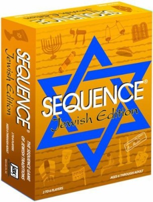 Jax Sequence Jewish Edition Board Game