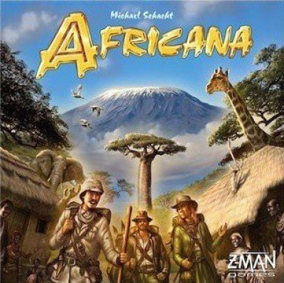 Z-Man Games Africana Board Game