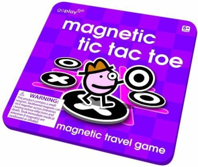 Toysmith Goplay Magnetic Tic Tac Toe Board Game