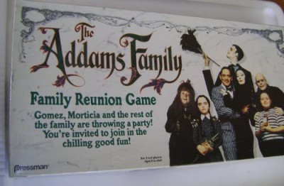 Pressman Toy The Addams Family Family Reunion Board Game