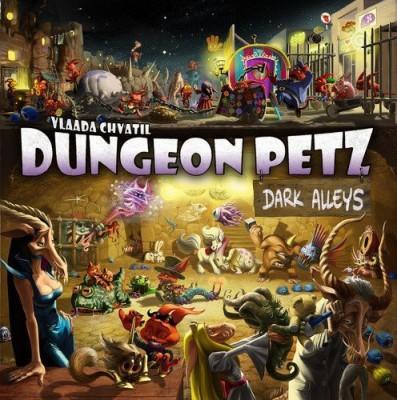 Czech Games Dungeon Petz Dark Alleys Board Game