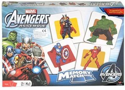 Gift Item Marvel Avengers Memory Match With Thoriron Mancapt Board Game