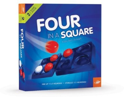 FoxMind Games Four In A Square Board Game