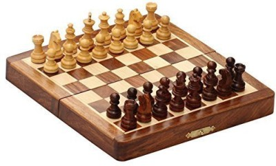 SouvNear Wood Chess Set Sale New Year Deals On Gifts Classic 7 X 7 Board Game