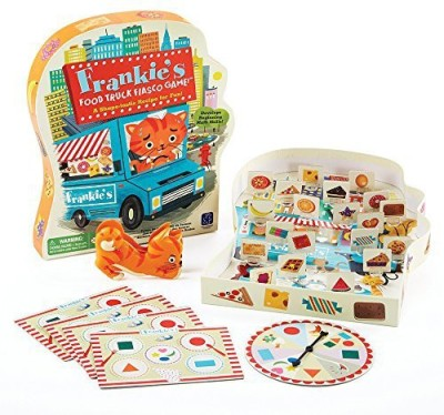 Educational Insights Frankie,S Food Truck Fiasco Board Game