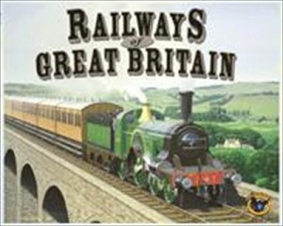 Eagle Games Railways Of The World Railways Of Great Britain Board Game