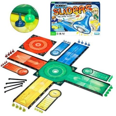Parker Brothers Sorry Sliders Board Game