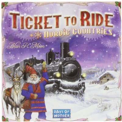 Days of Wonder Ticket To Ride Nordic Countries Board Game