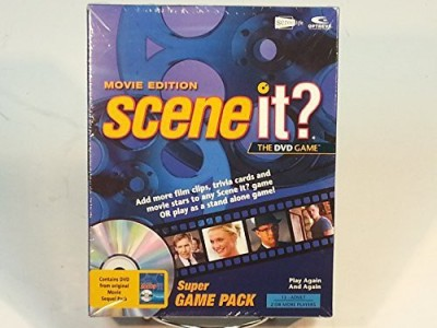 Screenlife Scene It? Movie Edition Super Pack Board Game