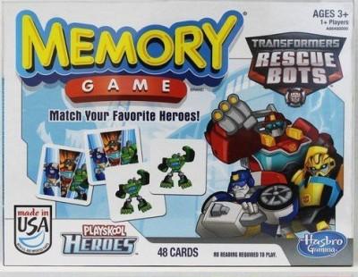 Transformers Rescue Bots Memory Board Game