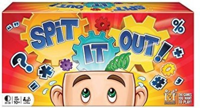 R & R Games Spit It Out Board Game