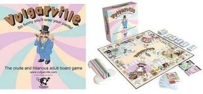 Insidemind Entertainment Vulgarville The Ludecrude & Rude Board Game