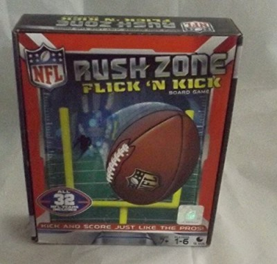 Toy Island Nfl Rush Zone Flick N Kick Board Game